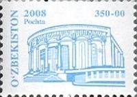 "788. Postage stamp ""Uzbek National Academic Drama Theatre""."