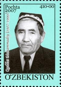 757. «Quddus Muhammadiy (1907-1999)» pochta  markasi.