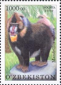 """849-852. """"Fauna. Toshkent hayvonot bog'i"""" pochta markalari turkumi."""