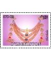 "753-756.Series of postage stamps ""Jewelry. Female Jewelry of Khorezm""."