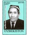 "757. Postage stamp ""Quddus Muhammadiy (1907-1999)""."